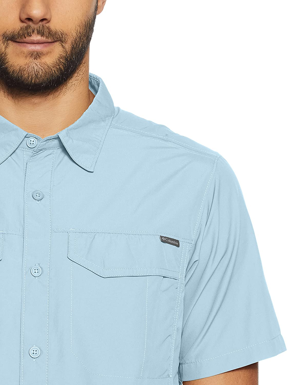 Columbia Sportswear Mens Silver Ridge Short Sleeve Shirt