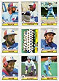 Montreal Expos 1979 Topps Baseball Team Set