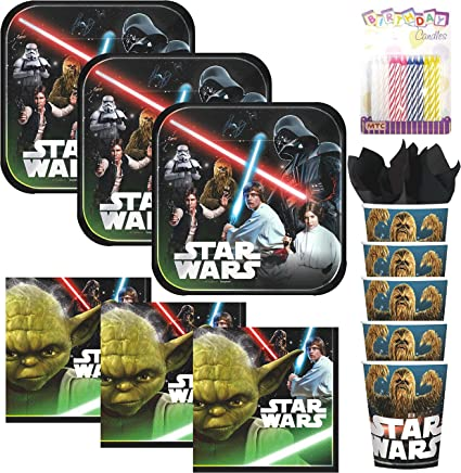 Amazon.com: Lobyn Value Pack Classic Star Wars - Servilletas ...