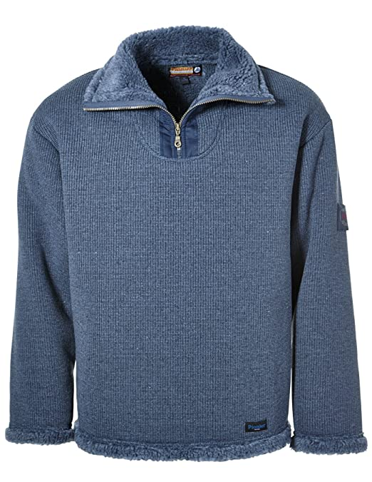 PIONIER WORKWEAR Herren Wirkflor Troyer Winter in anthrazit