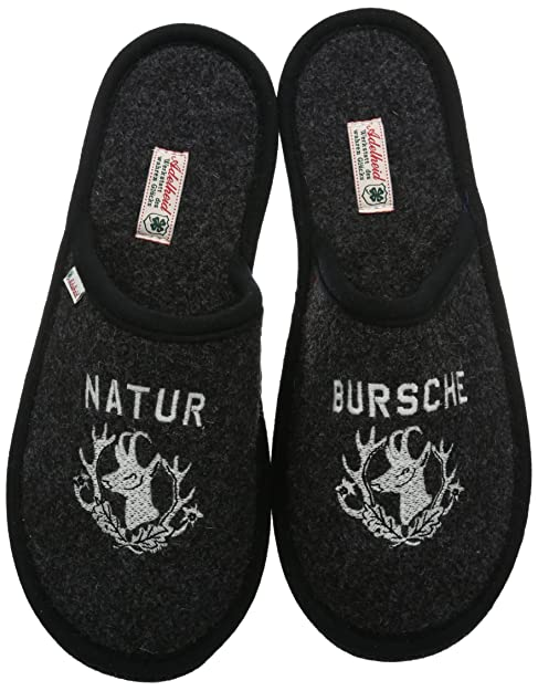 Adelheid Naturbursche Filzpantoffel - Pantuflas Hombre  Amazon.es  Zapatos  y complementos d9cb3a13da41