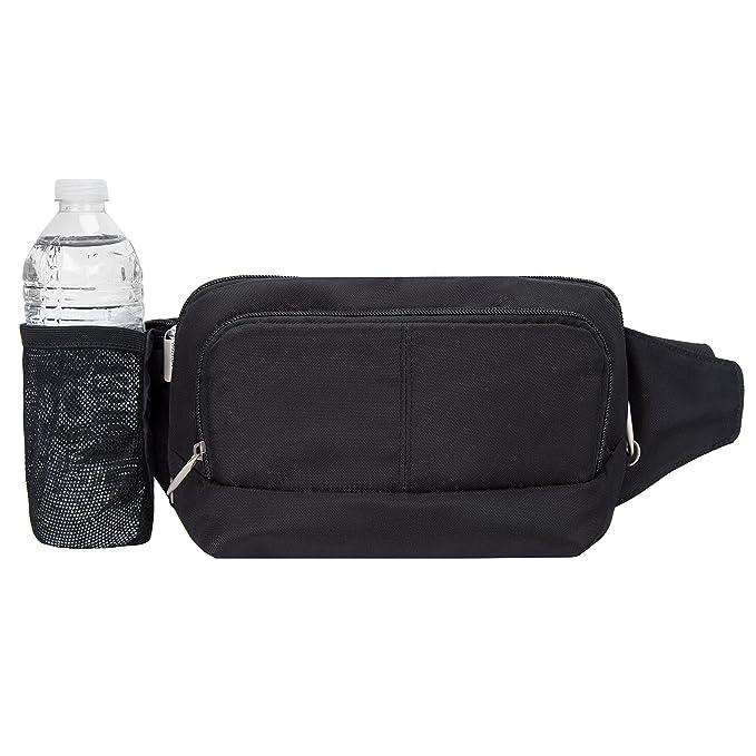Travelon Anti-Theft Waist Pack, Black, One Size