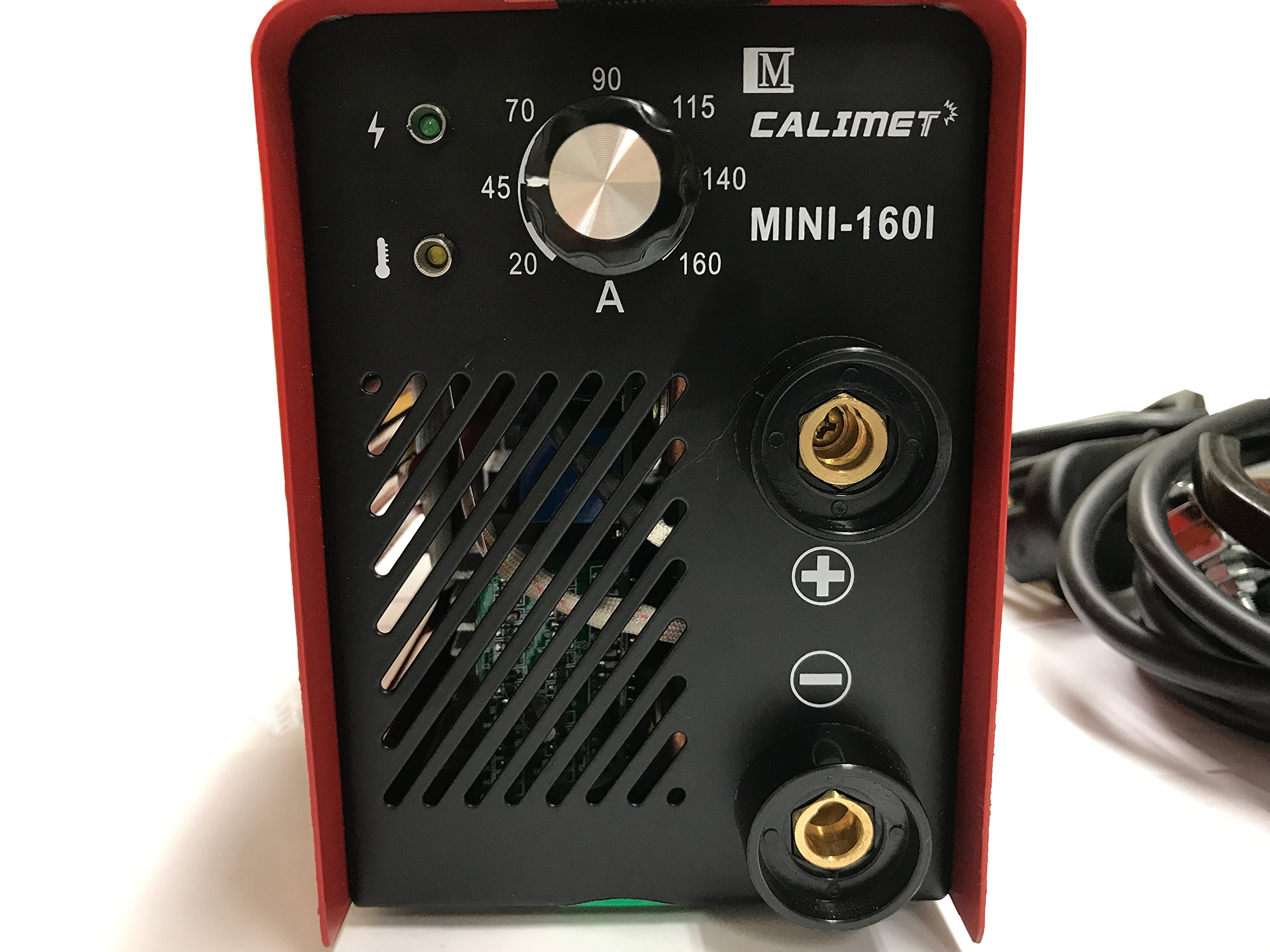 Calimetco Welding Machine Welder Mini/Light 8LB,Powerful, Long-lasting Work, Dual Voltage 115/230V, 160AMP. Great for Home and Professionals Use by Calimetco (Image #4)