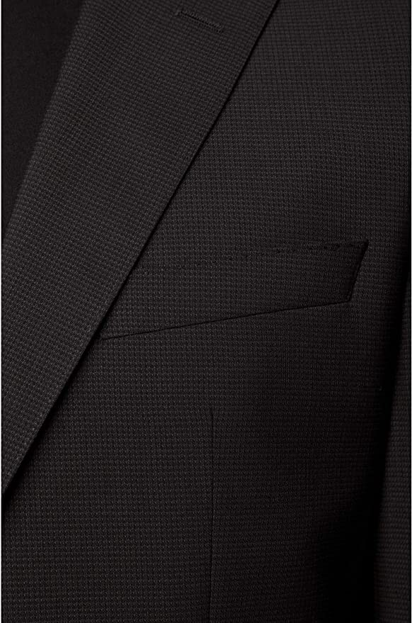 BOSS Herren Jeckson//Lenon2 Regular-Fit Anzug aus Schurwolle mit dezentem Muster