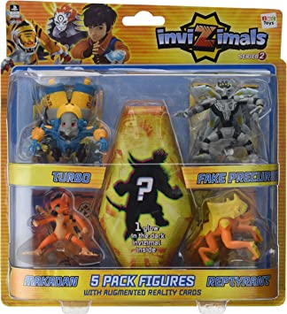 Figuras Pack 5 Invizimals -cr15-: Amazon.es: Juguetes y juegos