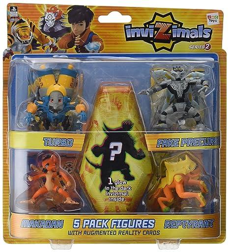 Figuras Pack 5 Invizimals -cr15-