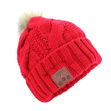 773c9d4ad7e9c Tenergy Wireless Bluetooth Beanie Hat with Detachable Stereo Speakers    Microphone
