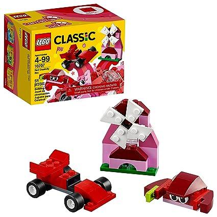 Amazon Lego Classic Red Creativity Box 10707 Building Kit Toys