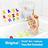 Jayden78 2X Bath Toy Organizer Mold Resistant,4