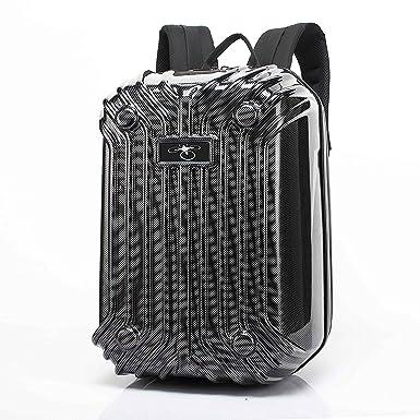 ZEEY Carbon Fiber Stripe Hardshell Travel Backpack for DJI Phantom 3 Phantom  4 45c95495939fa