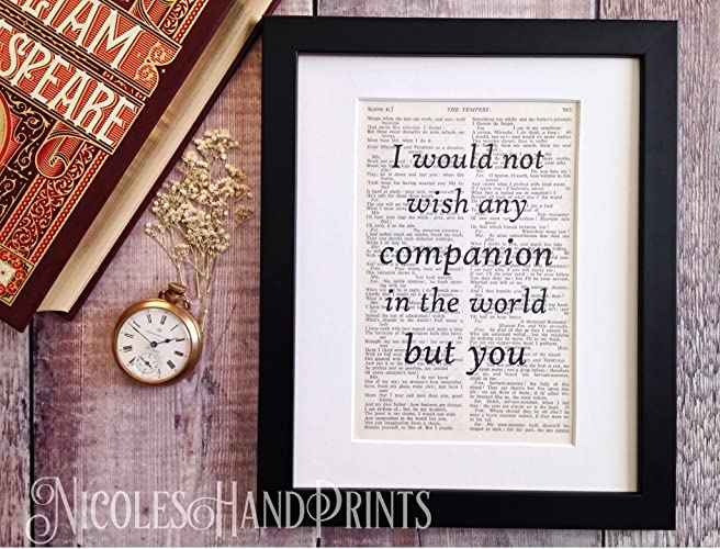 shakespeare gifts meaningful gifts for him meaningful gifts for