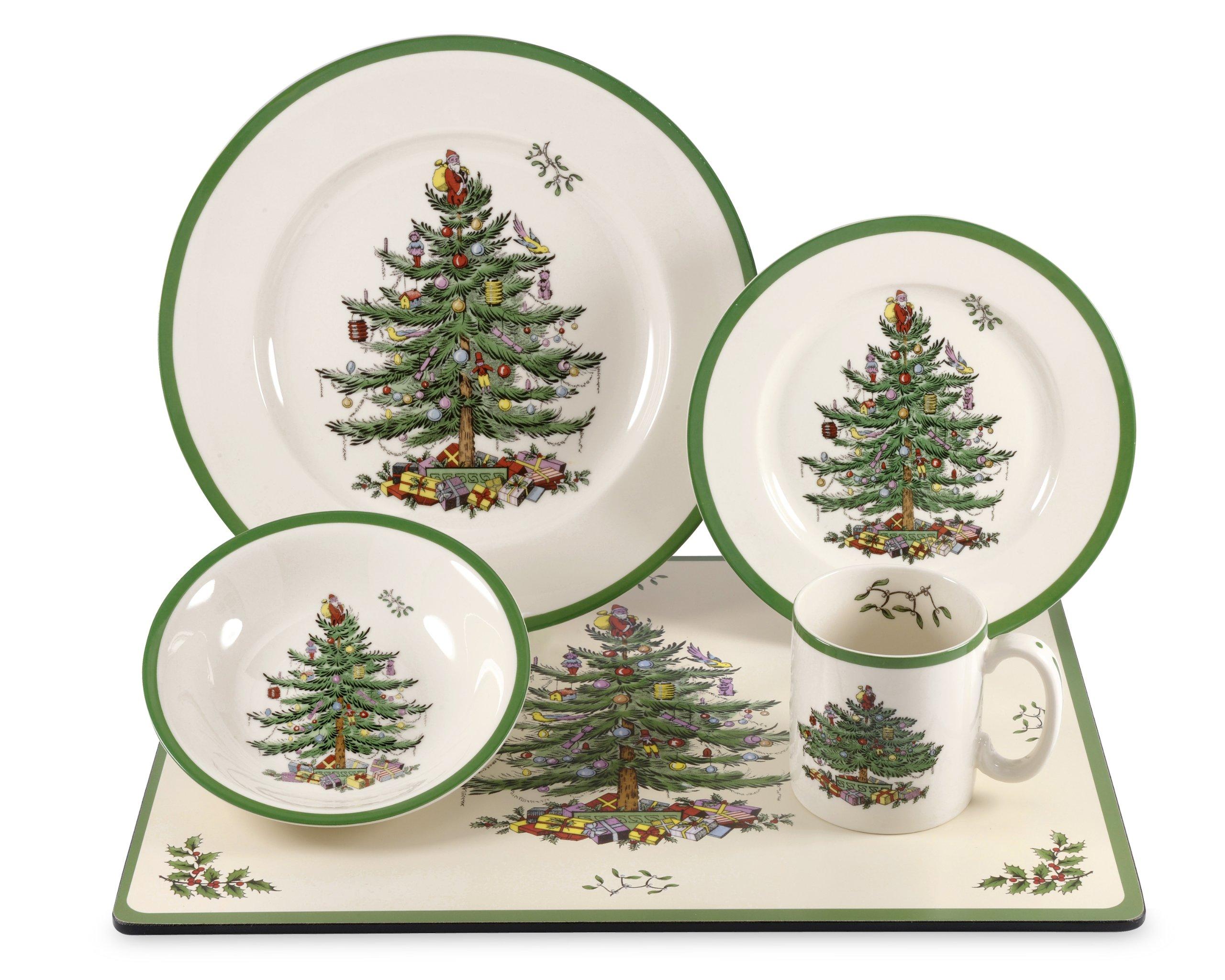 Spode Christmas Tree 20-Piece Set