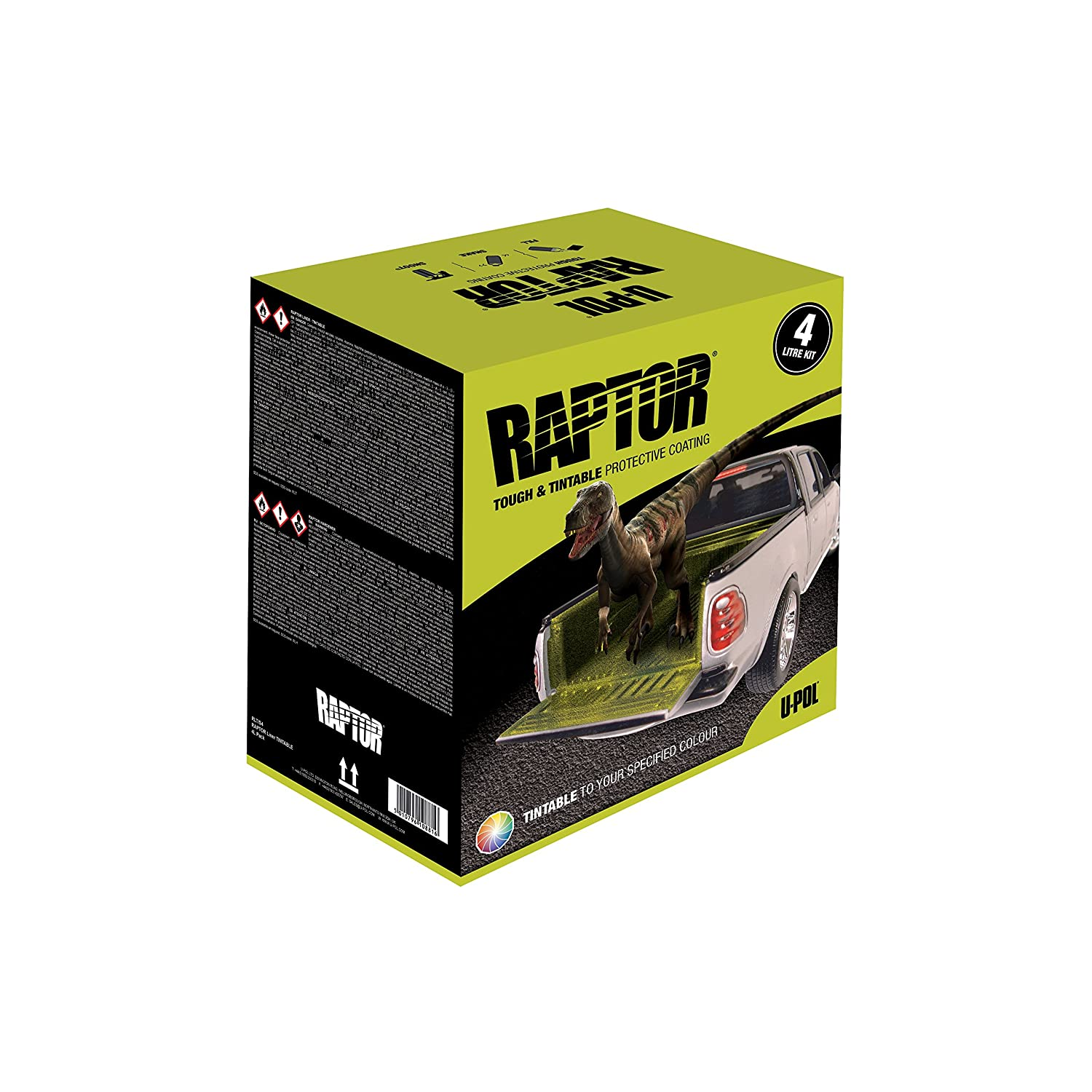 Amazon.com: U-Pol Products 0821 RAPTOR Tintable Truck Bed Liner ...