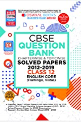 Oswaal CBSE Question Bank Class 12 English Core Chapterwise & Topicwise (For March 2020 Exam) Kindle Edition