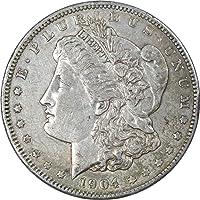 1904 $1 Morgan Silver Dollar Coin XF EF Extremely Fine