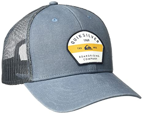 super popular b07fe 730d7 Quiksilver Men s Silver Lining Hat, Navy Blazer, One Size