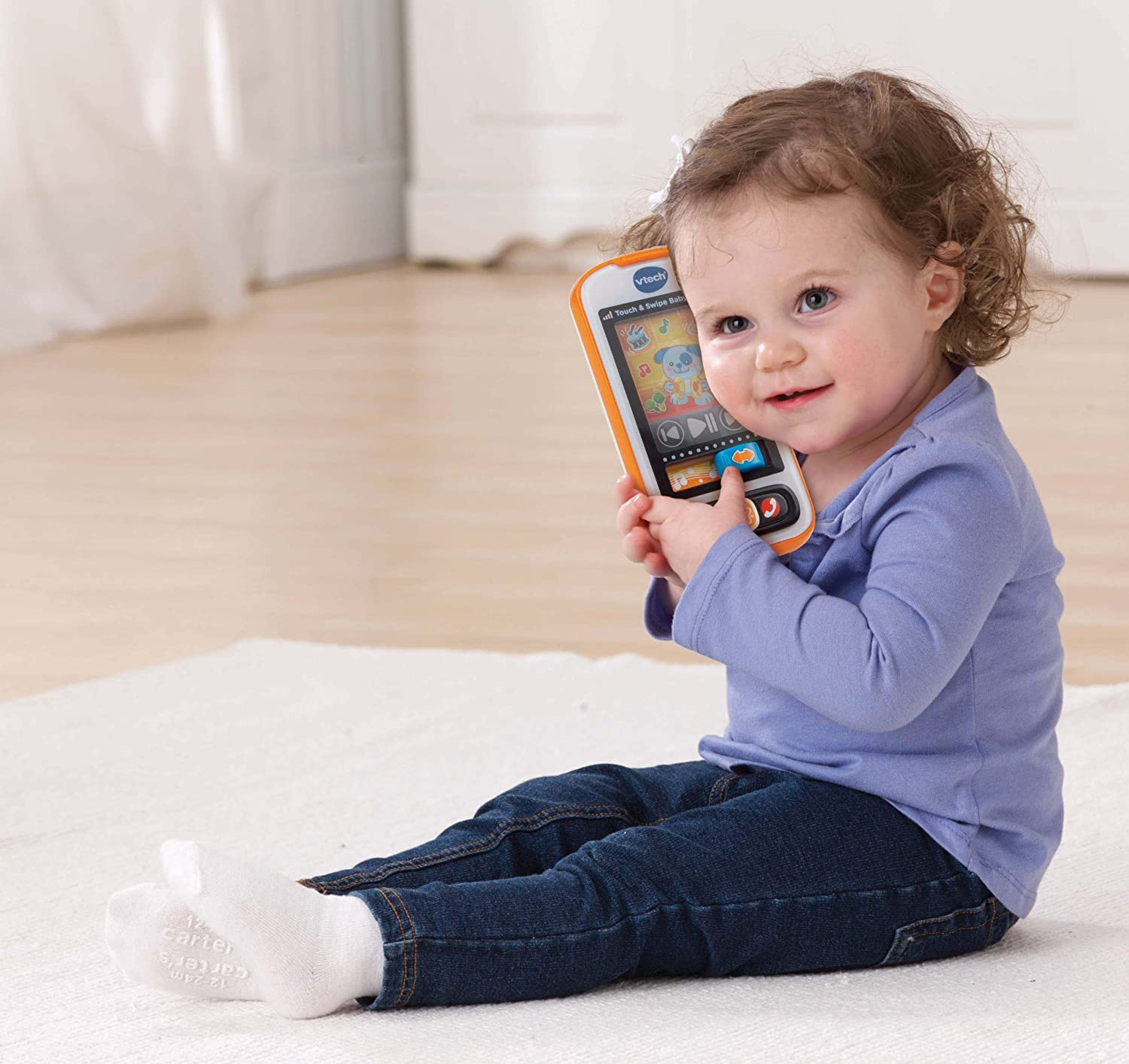 Amazon VTech Touch and Swipe Baby Phone Toys & Games