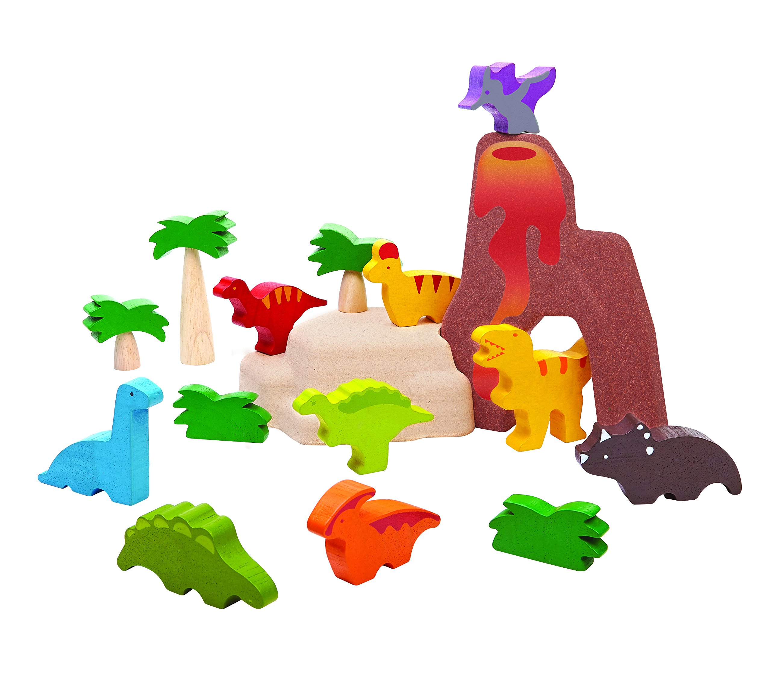 PlanToys 6621 Dinosaurs Set Toy Figure