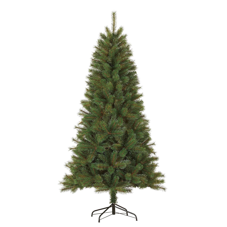 schwarz Box Trees 379096-01 Künstlicher Weihnachtsbaum Weihnachtsbaum Weihnachtsbaum Drummond Höhe 185 cm Durchmesser 99 cm 488 Zweige, PVC Hart und Weichnadel b26e19