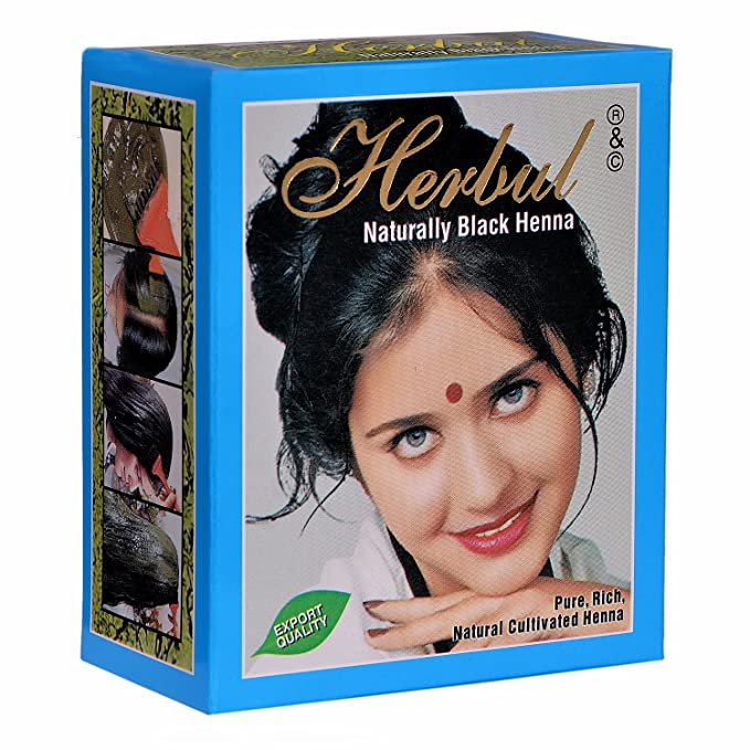 Buy Herbul Naturally Black Henna Online At Low Prices In India