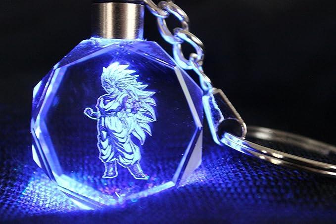 Dragon Ball Z Llavero son Goku Ultra saiyajin: Amazon.es ...