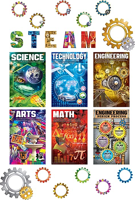 Teacher Created Resources STEAM Bulletin Board (TCR2150)