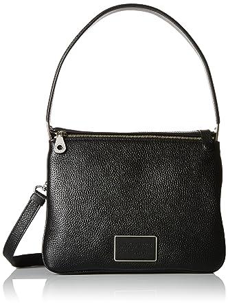 3b5e7d612e Amazon.com: Marc by Marc Jacobs Women's Ligero Shoulder Bag, Black One  Size: Shoes