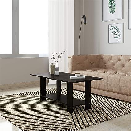 Amazon Brand - Solimo Gypso Engineered Wood Coffee Table (Royal Espresso)
