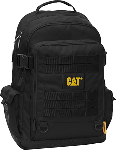 147873be72a CAT Combat Casual Backpack, 49 cm, 22 Liters, Black: Amazon.co.uk ...