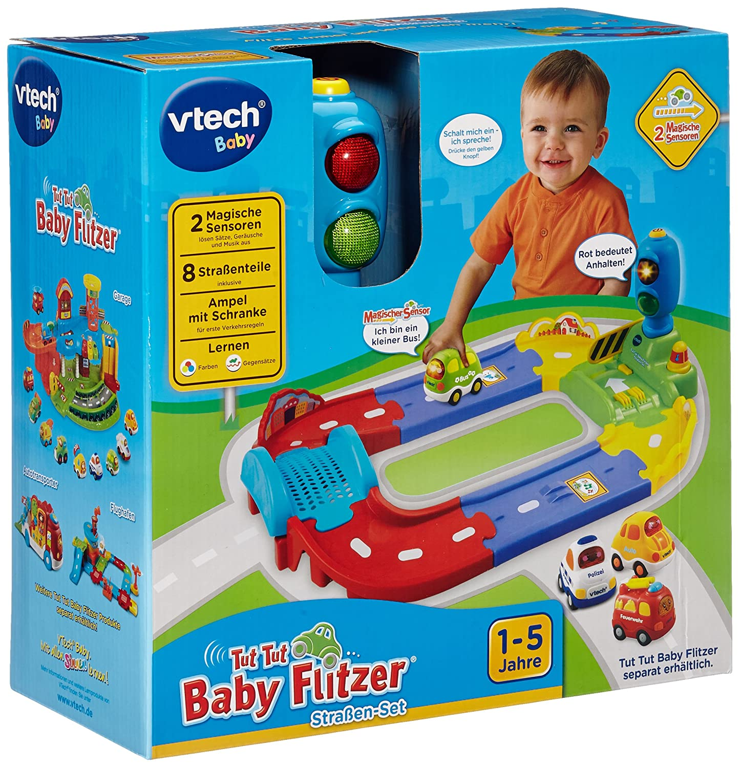 vtech baby 80 127804 tut tut baby flitzer stra en set ebay. Black Bedroom Furniture Sets. Home Design Ideas
