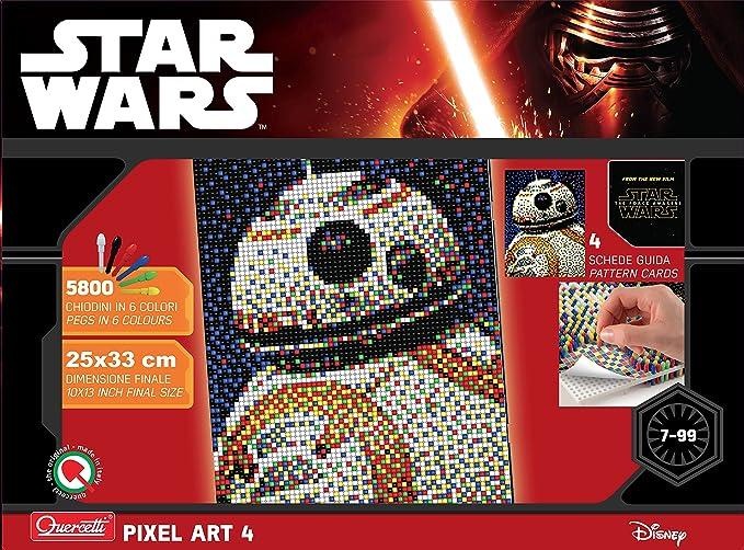 Quercetti QUER - Pixel Art 4 Paneles BB-8: Amazon.es: Juguetes y ...