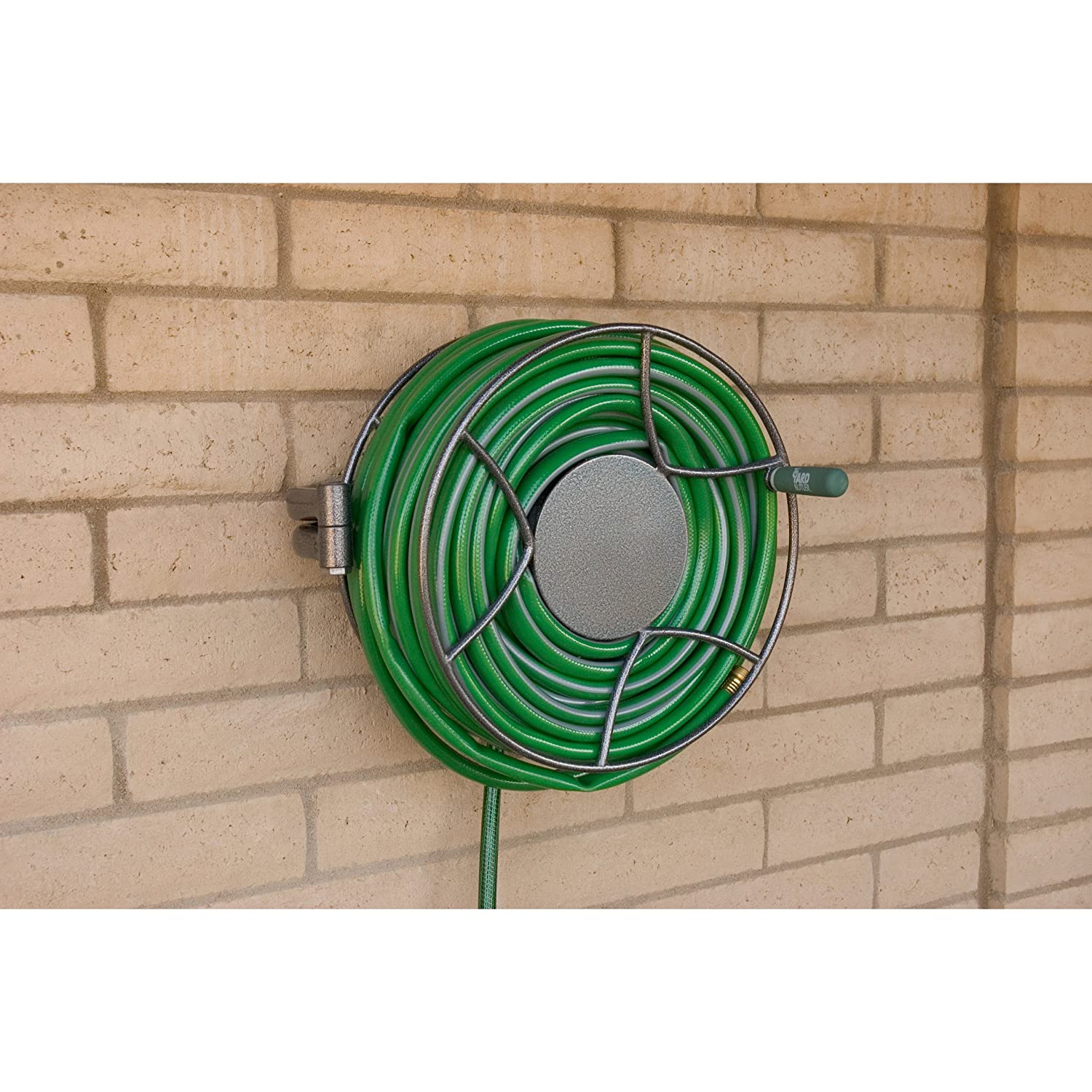 Amazon.com : Yard Butler SRWM 180 Wall Mounted Hose Reel : Garden Hose Reels  : Patio, Lawn U0026 Garden