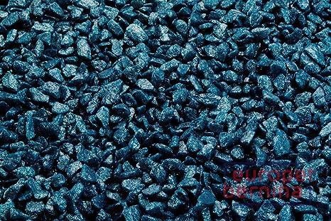 Aqua D ella Acuario Grava Petróleo Blue 6 x 2 kg Diámetro 6 – 9
