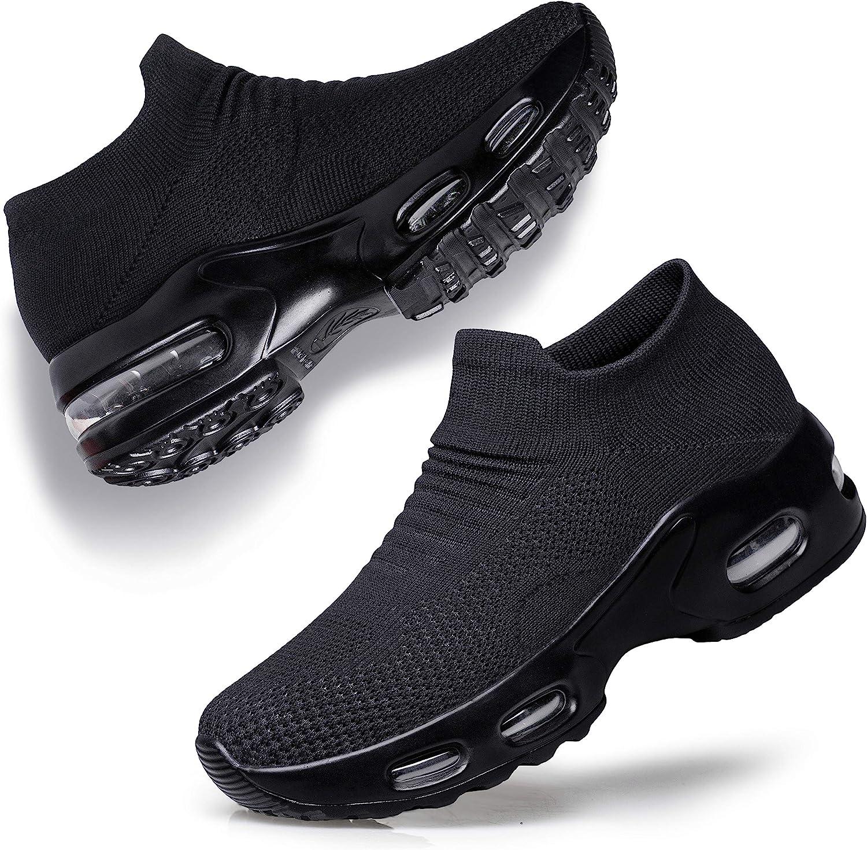 YHOON Women's Walking Shoes Slip-on