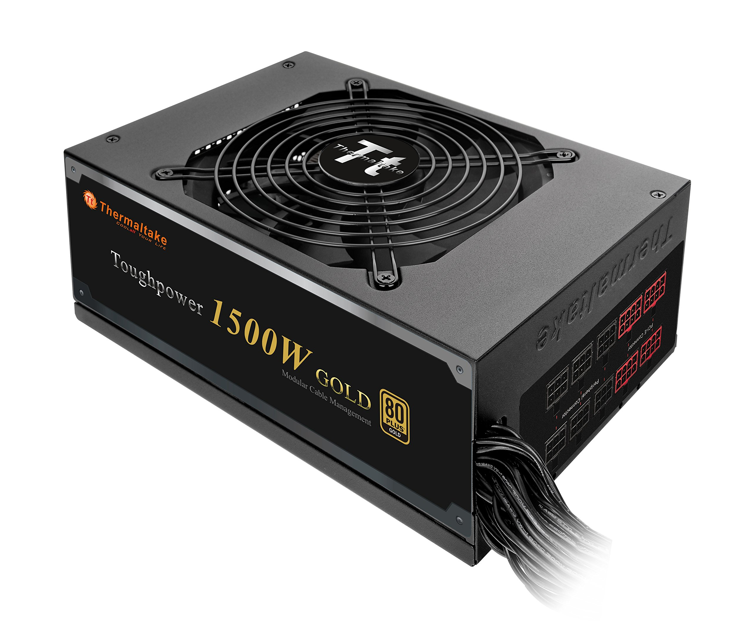Thermaltake Toughpower 1500W 80+ Gold Semi Modular ATX 12V/EPS 12V Power Supply 5 YR Warranty PS-TPD-1500MPCGUS-1