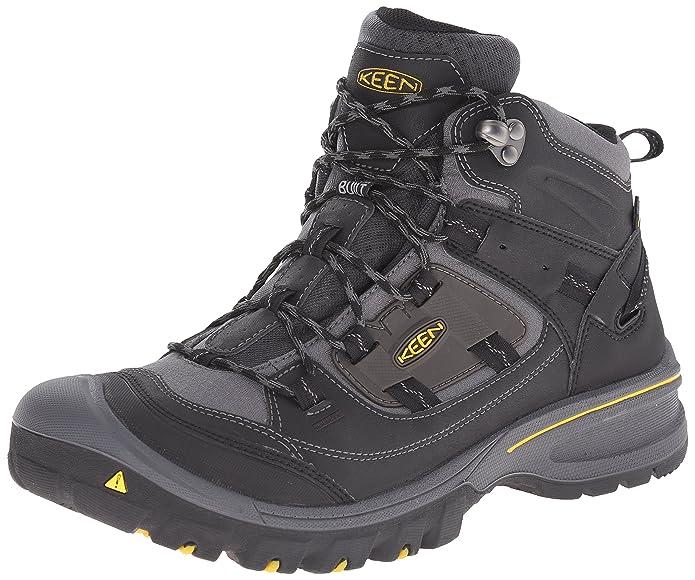 Keen Logan Zapatillas de Senderismo para Hombre, Color Negro, Color, Talla 43 EU: Amazon.es: Zapatos y complementos