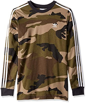 b80ecd62b460c adidas Originals Men's Camo Long Sleeve Tee at Amazon Men's Clothing store: