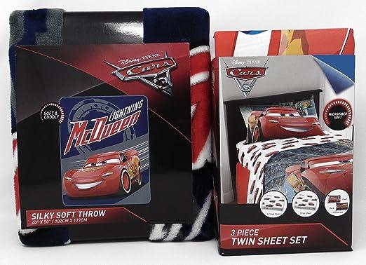 Cars 3 manta de rayo Mcqueen y Lightning McQueen doble juego ...