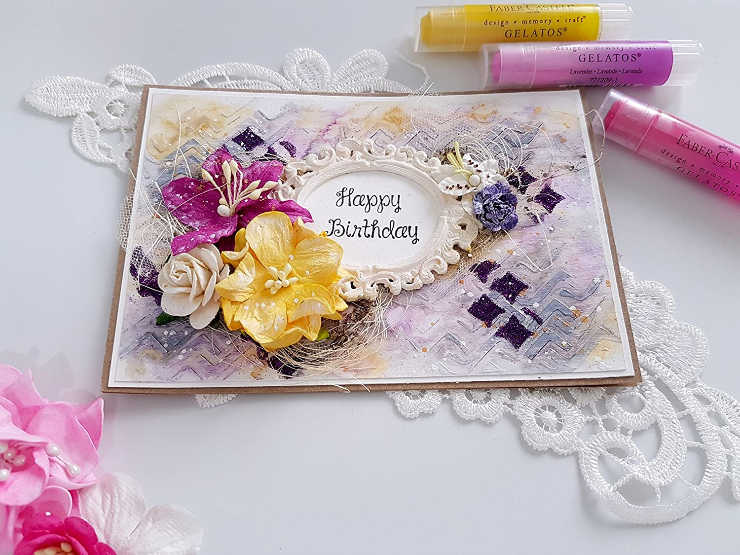 Remarkable Amazon Com Handmade Greeting Card T For Her Happy Birthday Funny Birthday Cards Online Overcheapnameinfo