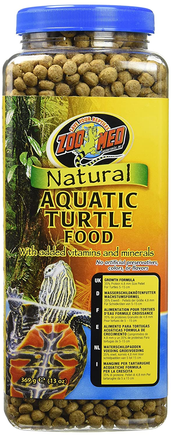 Zoo Med Natural Aquatic Turtle Food Maintenance Formula 12-Ounce Royal Pet Supplies Inc ZM111