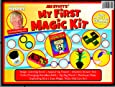 Jim Stott's 'My First Magic Kit' for Kids, Magic Tricks Set for Girls and Boys, Appearing Flower, Magic Coloring Book, Mystery Box, Color Changing Handkerchiefs, Exploding Dice, and More