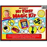 Jim Stott's 'My First Magic Kit' Magic Set Featuring Easy to Learn Magic Tricks, Magic Coloring Book, Color Changing Handkerchiefs, Appearing Flower& More!