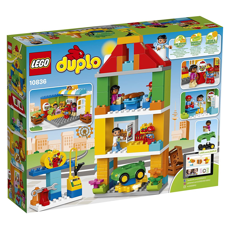 Welp LEGO 10836 Town Square Building Set: Amazon.co.uk: Toys & Games CV-48