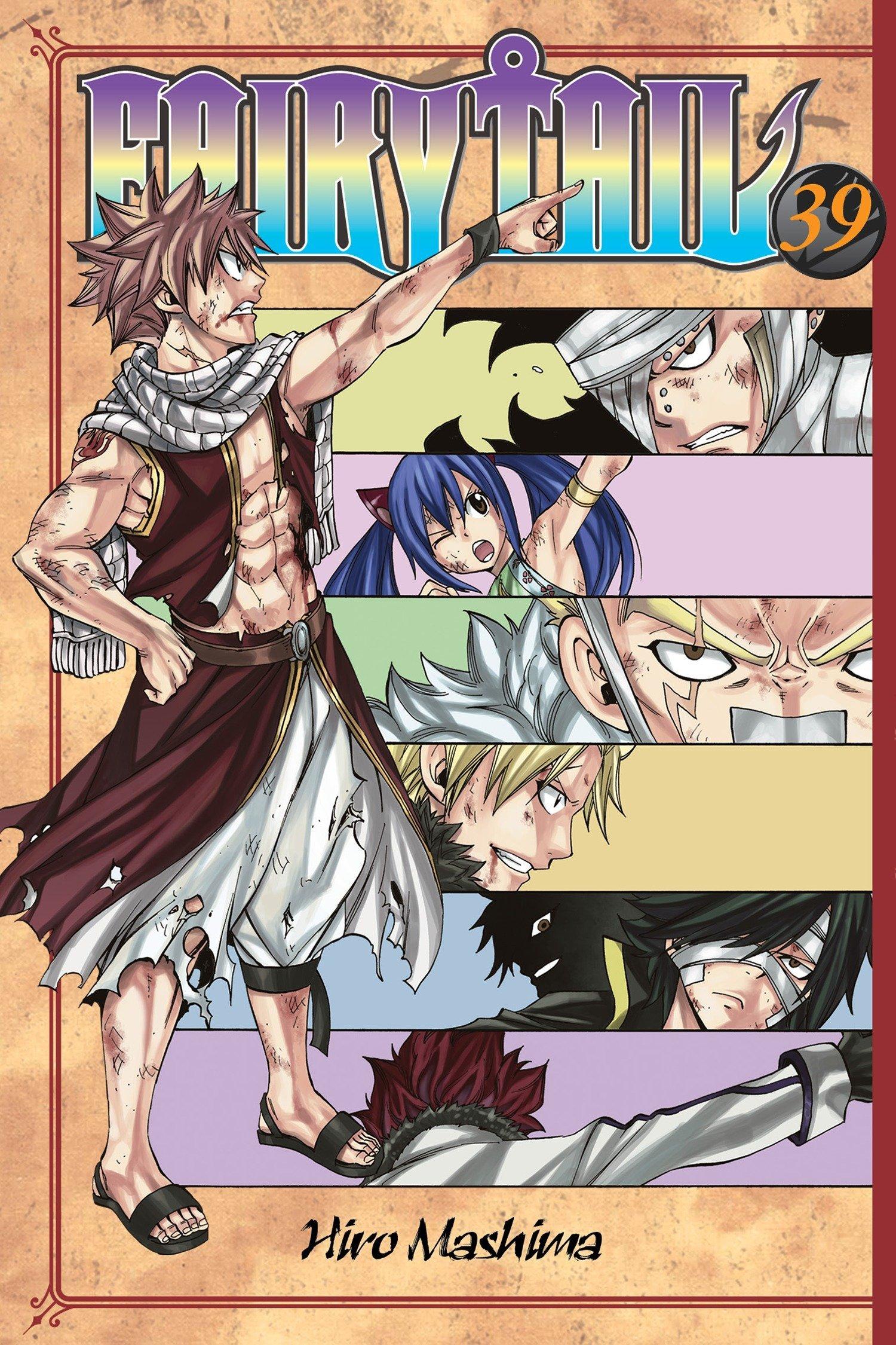 Download Fairy Tail 39 pdf epub