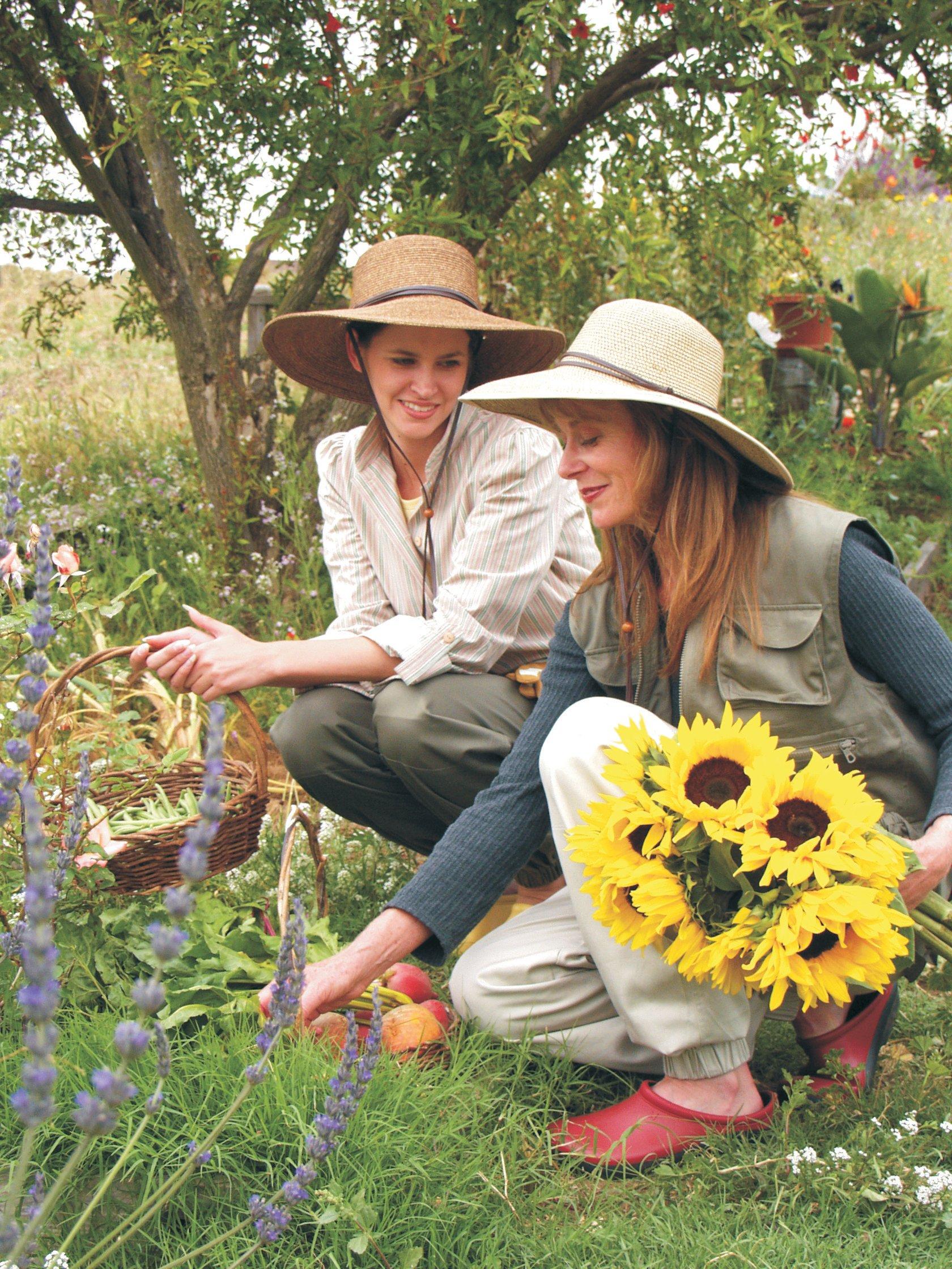 9f1858ed Sloggers Women's Wide Brim Braided Sun Hat with Wind Lanyard - Dark Brown -  UPF 50+ Maximum Sun Protection, Style 442DB01