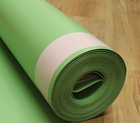 FloorMuffler Flooring Underlayment Acoustical And Moisture Barrier For Wood  And Laminate With Self Sealing Overlap System