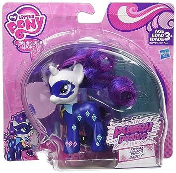 my little pony power ponies exclusive radiance rarity amazon co uk