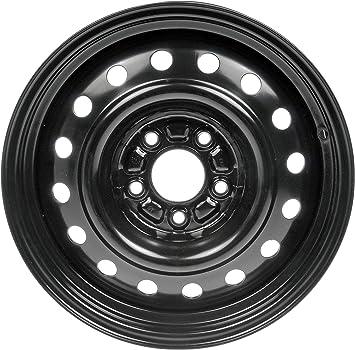 16x6.5//5x4.5 Dorman Steel Wheel with Black Painted Finish