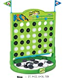 LARGE 4 in a Row, Classic Family Connect Game, Four in a Row Board Game for Kids Family Football Theme