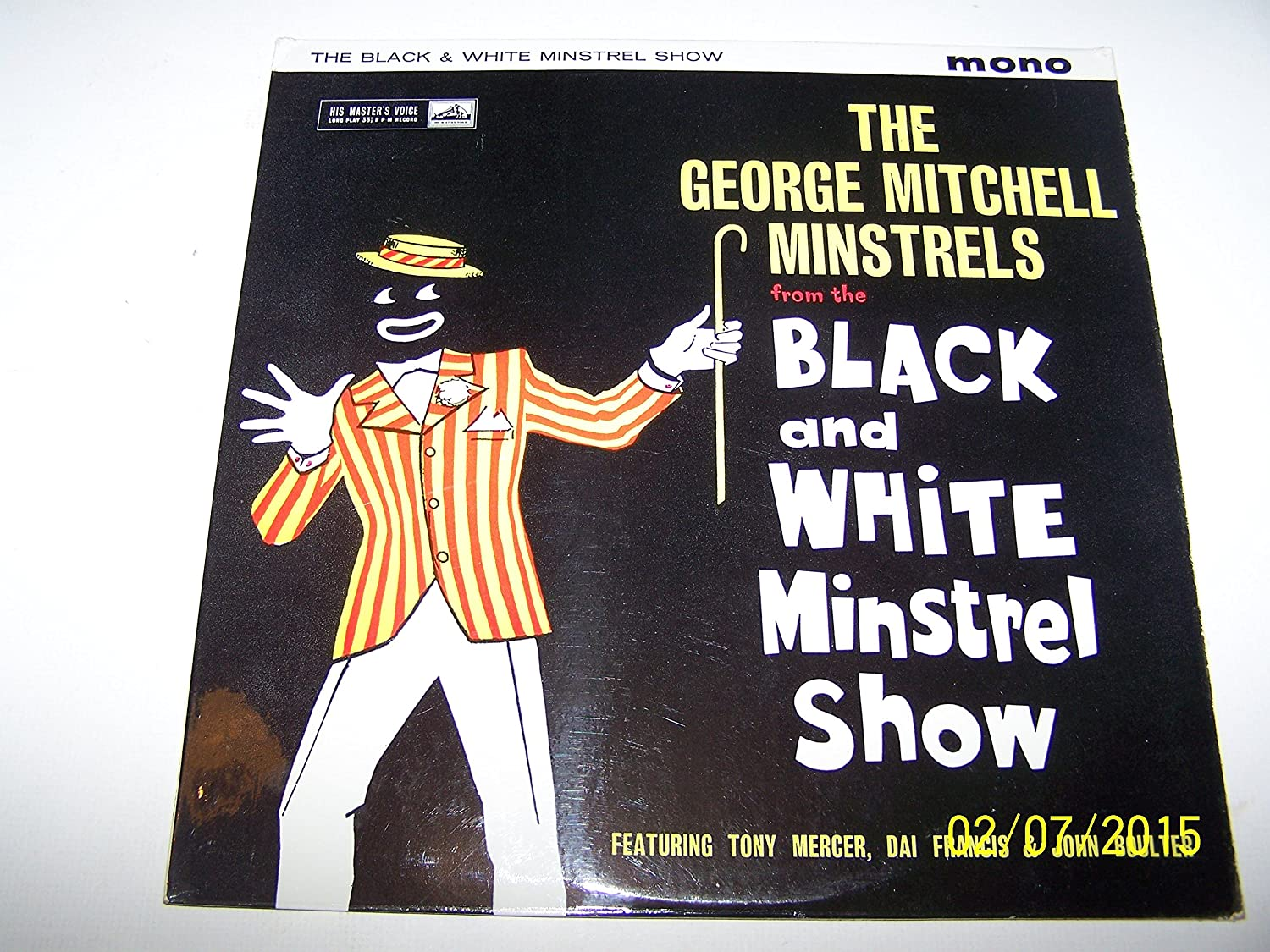 The black and white minstrel show george mitchell minstrels the lp amazon co uk music